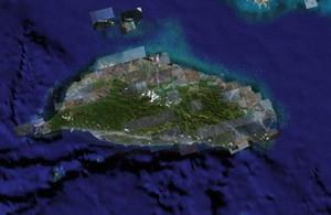 從Google Earth上看到的台灣,衛星分段掃描的痕跡,像在土地上貼了很多補丁,也像是反映了我們過度開發的結果,美麗之島已遠颺,我們要留給下一代這樣的台灣!?圖片來源:google earth