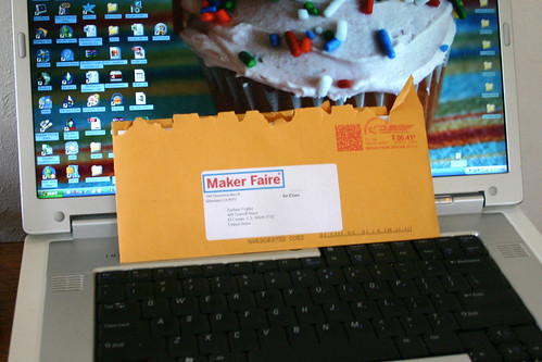 May 3, 2008: MakerFaire Tickets