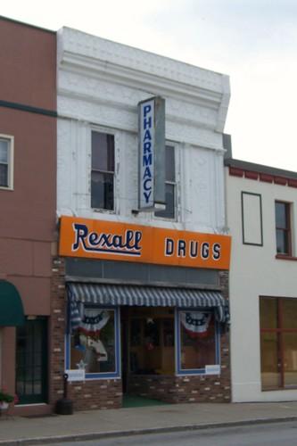 Rexall Pharmacy, Osgood, Indiana