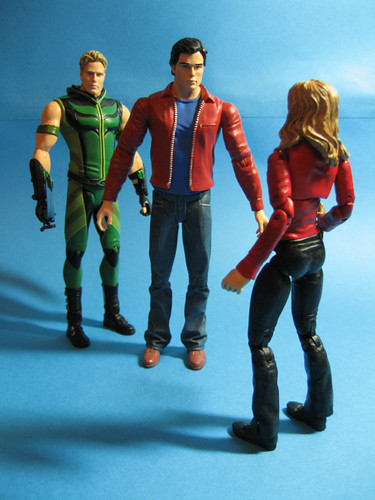 Clark Kent, Green Arrow and Buffy