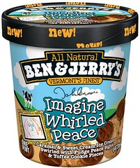 Move over Jerry Garcia, it's John Lennon's time - Ben & Jerry's Imagine Whirled Peace