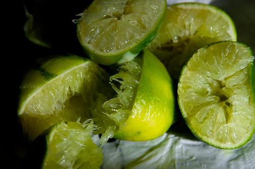 limes!  so many limes!