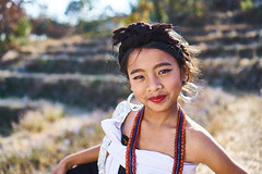 Kuki girl of Northeast India (Sony A6300 + SEL35F18 - full resolution) (Crearto.in) Tags: india manipur girl smile pretty northeast sony a6300 sel35f18 portrait beautiful eyes rural kids 35mm lens bookeh travel culture cultures children dof light wow necklace traditional ethnic tribal tribe kuki bokeh