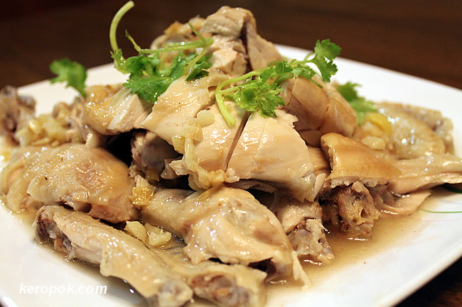 Steamed Kampung Chicken
