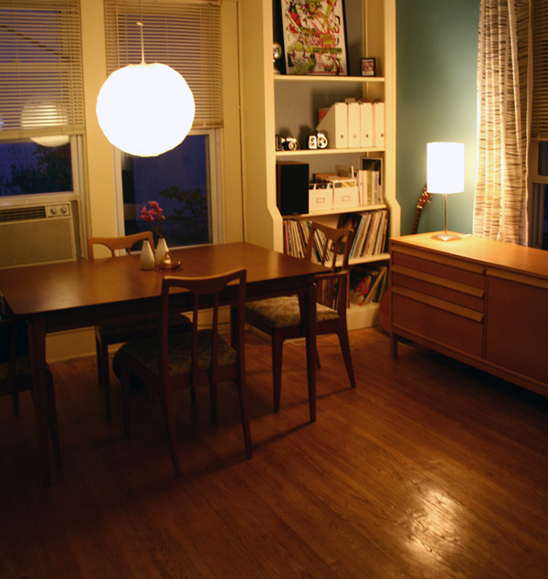 1960's Drexel Table & Chairs