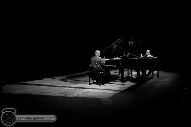 Kenny Werner and Mike Wofford at Birch North Park Theatre 40710 © Michael Klayman-029