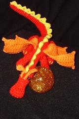 """My amigurumi """"Dragon"""" (kuzco_cat) Tags: cute self toy dragon crochet super hobby made amigurumi spielzeug drache kuscheln häkeln handarbeit süs häkeltier"""