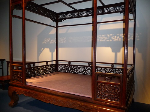 Qing Dynasty canopy bed