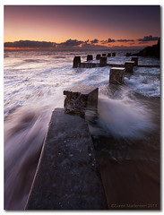 Stepping Stones (danishpm) Tags: ocean pool sunrise canon sydney wave australia wideangle nsw splash aussie aus 1020mm manfrotto coogeebeach sigmalens eos450d 450d sorenmartensen hitechgradfilters 09ndreversegrad