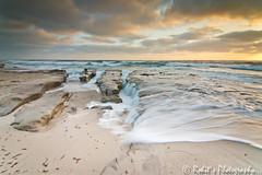 DSC03469.jpg (Rohitsphotography) Tags: ocean sunset sky beach nature clouds golden rocks view pacific sandiego lajolla a700 leefilters tokina1116