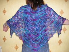Kiri shawl (knittingladybird) Tags: kiri shawl colinette parisienne
