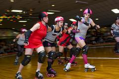 Charm City Roller Girls (epmd_derby) Tags: rollerderby championshipbout charmcityrollergirls mobtownmods nightterrors speedregime junkyarddolls puttyhillskateland
