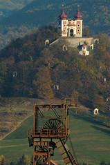Mining & religion (jandudas) Tags: old architecture town mining unesco hills slovensko slovakia slowakei calvary stiavnica banska slovaquie schemnitz selmecbánya