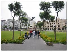 Plaza San Martín, Lima, Perú