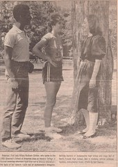 belinda and hillary 1983 (ninjapoodles) Tags: school clinton highschool hillary scanned 17 arkansas 1983 governors newspaperclipping wheniwasseventeen