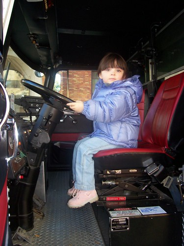 Julia in the Ladder Truck