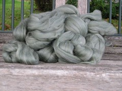 alpaca and merino roving