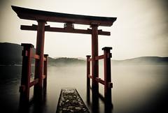 Torii @ Hakone Jinja (jauderho) Tags: original topf25 topv111 japan canon  5d kanagawa hakone torii soe 2007   1635mm  jauderho hakonejinja mywinners japan2007 dopplr:trip=19467