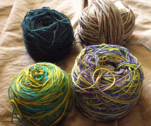 Wound Sock Yarn