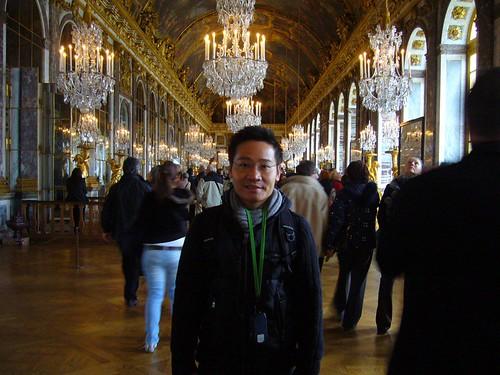 Ben at the Versailles