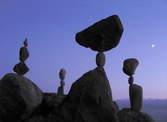 Moonlight balance (Heiko Brinkmann) Tags: sculpture germany deutschland stones moonlight balance bodensee balancing rockbalancing lakeconstance badenwuerttemberg blueribbonwinner pebblebalancing hickoree
