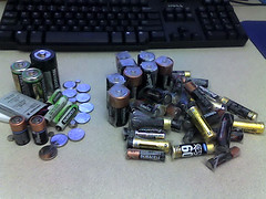 Used batteries recycle
