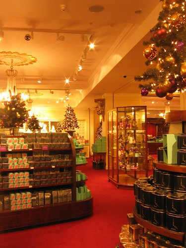 London - Fortnum & Mason inside store 2