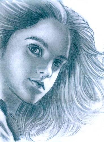 hermione-emma watson-fake-painting