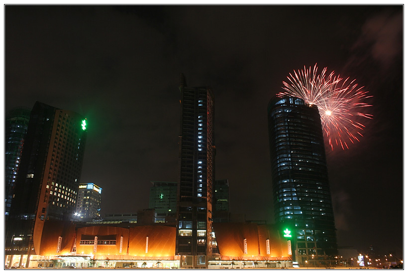 Mid Valley New Year FireWorks