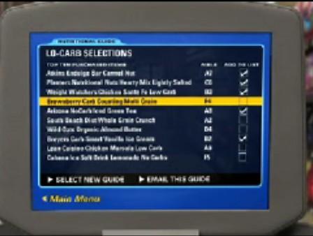 MediaCart list