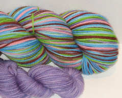 Tomboy Merino Neverending Sock Yarn w/ trim! - 4.5 oz (Spiffy Knits)