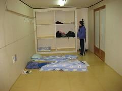 Amanda and my room at Golgulsa