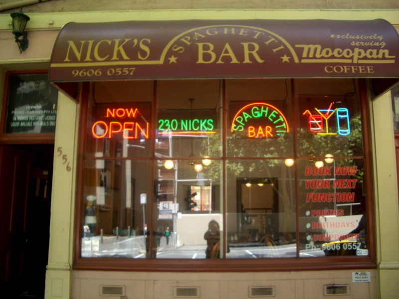 Nick's Spaghetti Bar