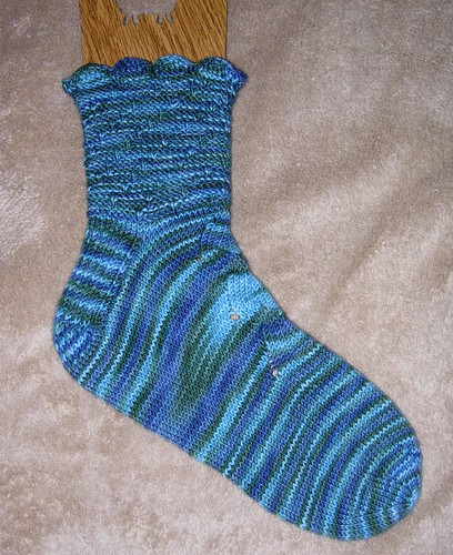 Salish Sea Sock