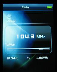 Er zit ook een FM-radio in.