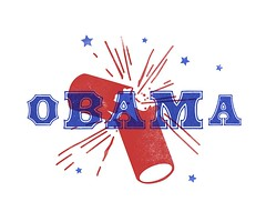 Barack (Depression Press) Tags: wood logo graphicdesign political politics motto type campaign slogan obama barack kenthenderson depressionpress