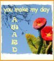 you make my day award, blogspot, knitting, ravelry
