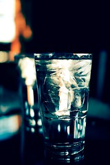 Refresh Before You Go (: c a l v i n a :) Tags: family cold glass lunch cool laketahoe refreshing thirst daytrip quench iceandwater hydrate february2008 dayinthesnow beforewehitthesnow