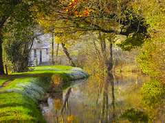 BRECON CANAL (PAUL1852X) Tags: reflection canal photo group explore reflexions aplusphoto goldstaraward naturemasterclass flickrstruereflection1