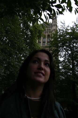 Jessa at the houses of Parliament