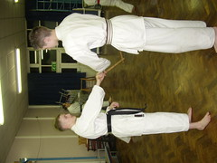 Escrima sticks and shotokan karate (KarateBSTK) Tags: sticks escrima