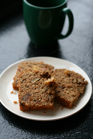 Banana Date Walnut Loaf