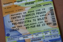 Beastie Boys @ MX-Beat 2008 (ticket) (Esparta) Tags: geotagged tickets beastieboys boletos geo:lat=19367612 geo:lon=9955655