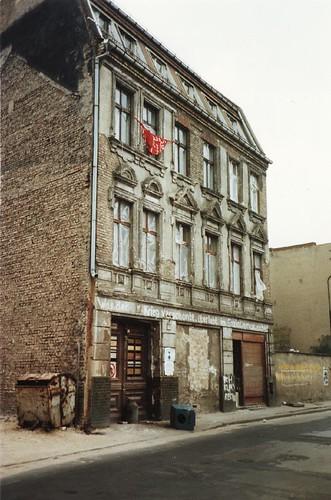 East Berlin building 1990