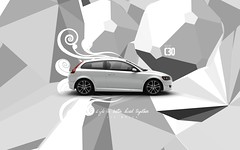 Ice White Volvo c30 (Gui Rio) Tags: desktop wallpaper car illustration gteborg design volvo graphic sweden gothenburg screen resolution sverige gotland svenska gotheborg c30 volvoc30 volvoc30wallpaper volvoc30wallpapers volvoc30desktopwallpaper c30wallpaper c30wallpapers