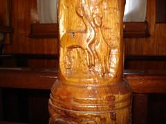 Africa sings - wood carving - Ξυλόγλυπτο με αφρικάνικα σχέδια