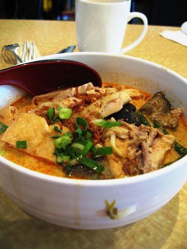 Chicken laksa@Malaya Corner