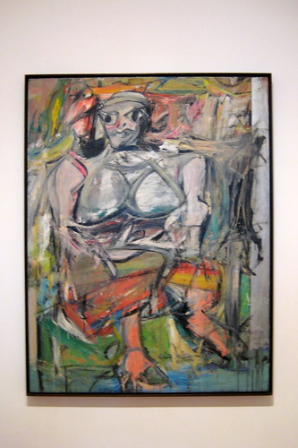 NYC - MoMA: Willem de Kooning's Woman, I by wallyg