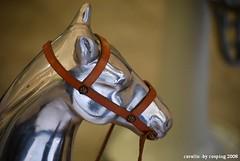 cavallo (rosping-Giovanni Spatafora) Tags: red italy rot silver rojo italia liguria 16 aprile 2008 rosso cavallo imperia argento savona rosping