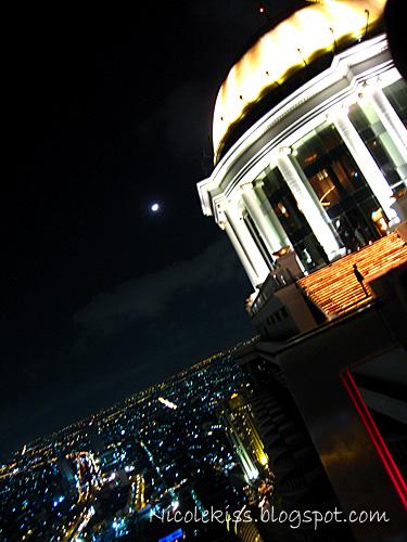 sky bar night scene